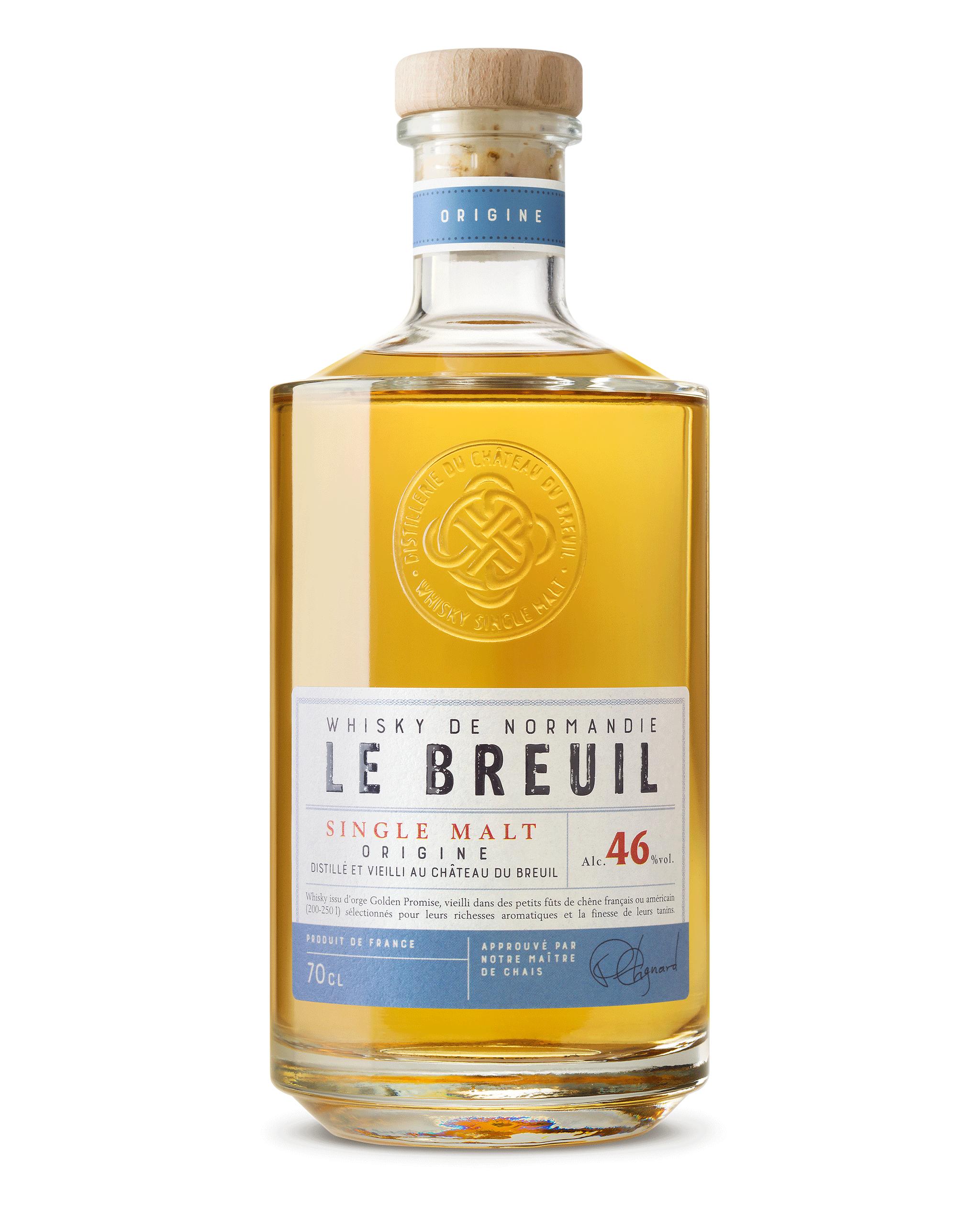 Visuel Bouteille Whisky Origine