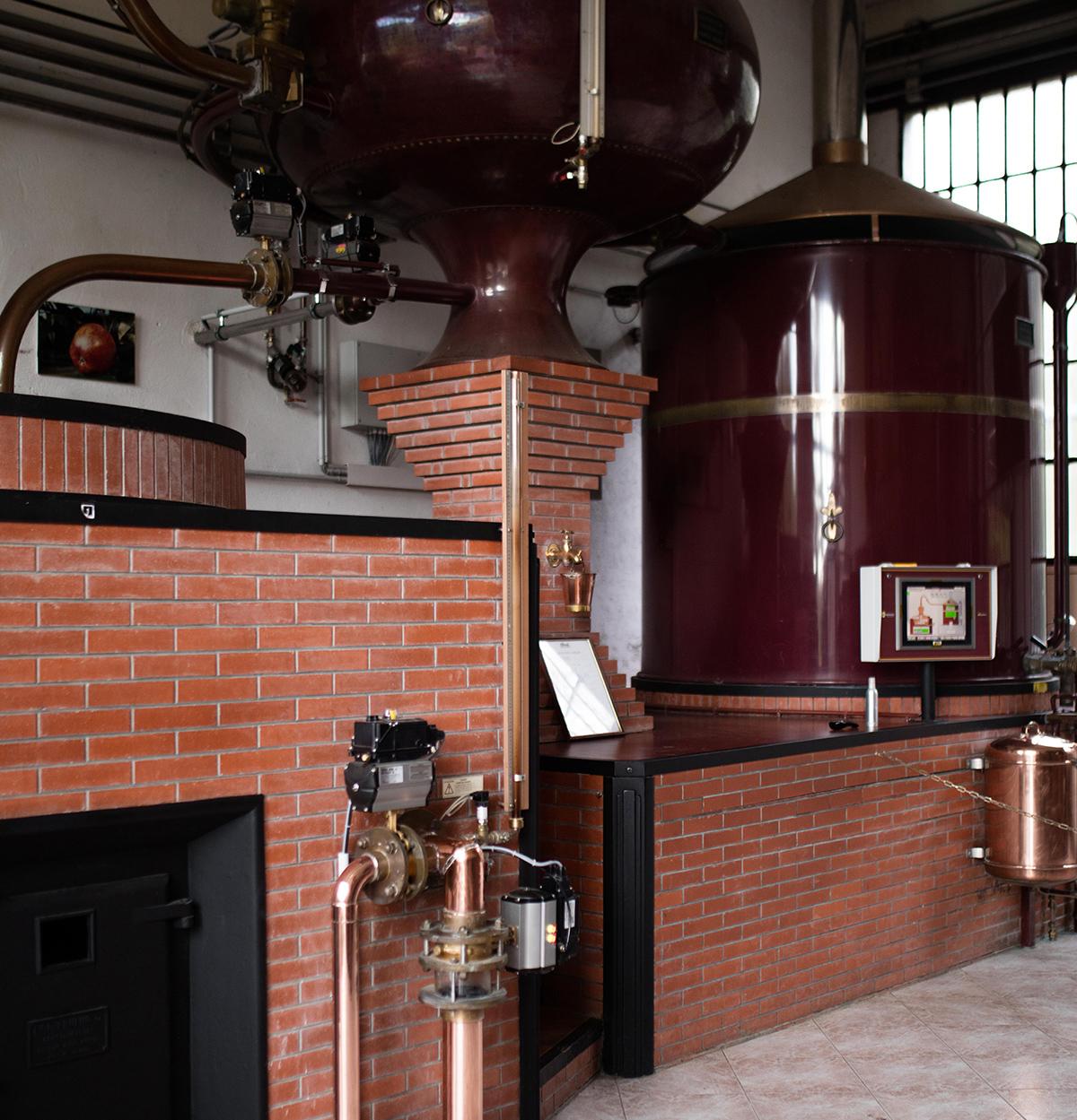 Chateau du breuil distillerie
