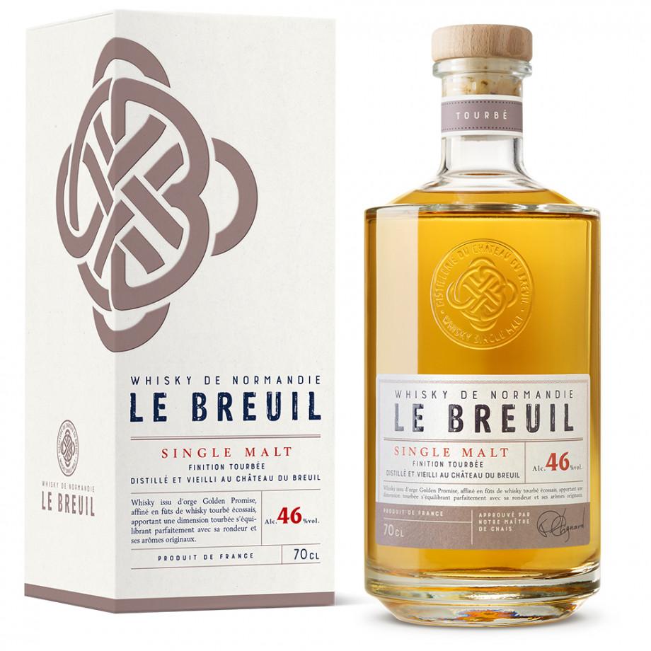 Whisky Normand Tourbé