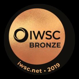 Médaille IWSC bronze 2019