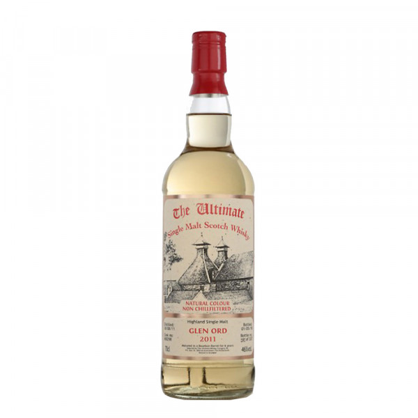 Bouteille Whisky Glen ord 2011