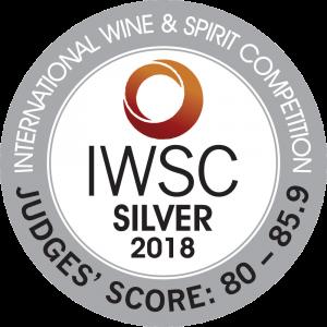 Médaille argent IWSC 2018