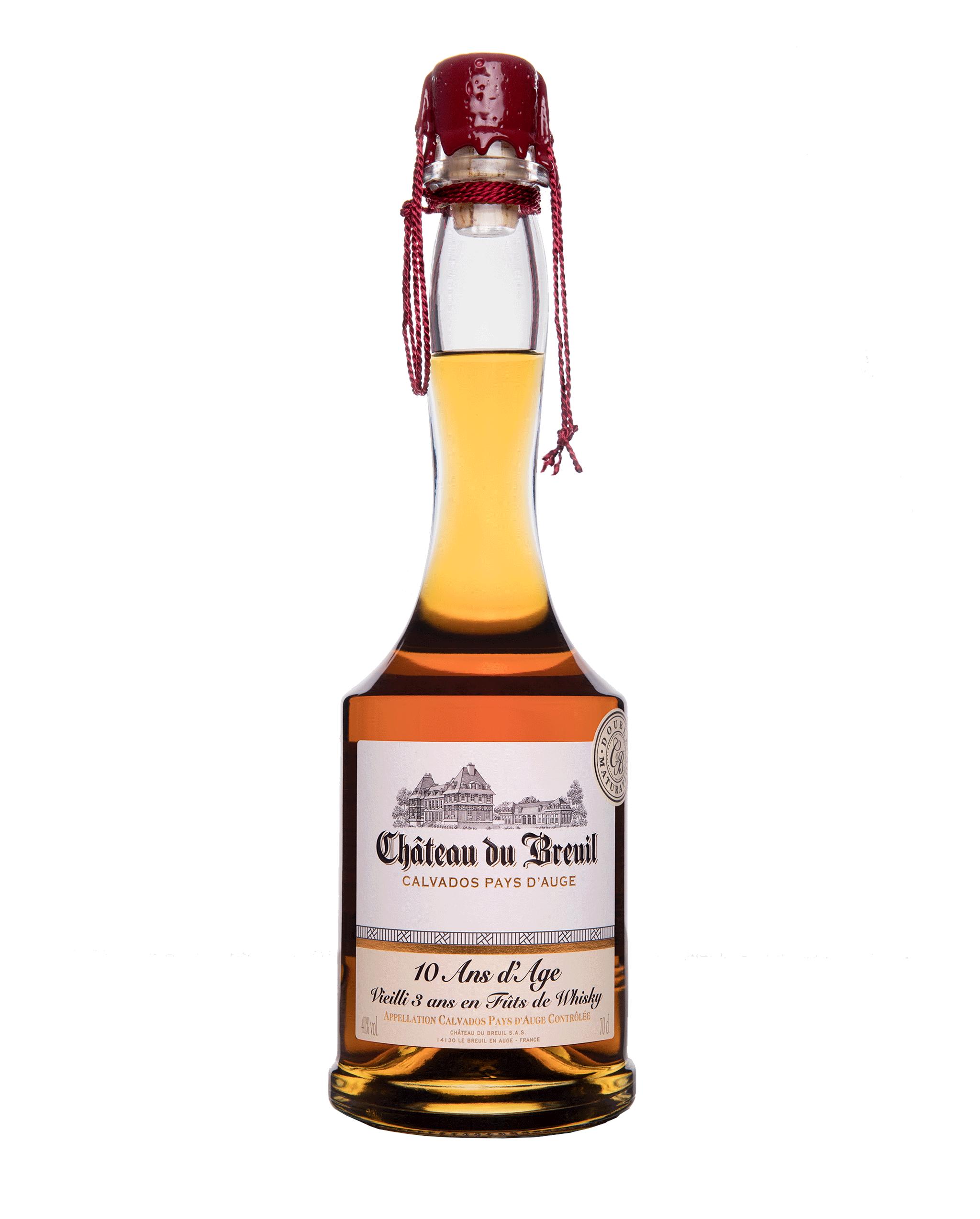 Bouteille Calvados finition fûts de whisky