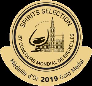 Médaille Or Spirit Selection 2019