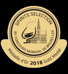 Médaille or Spirit Sélection