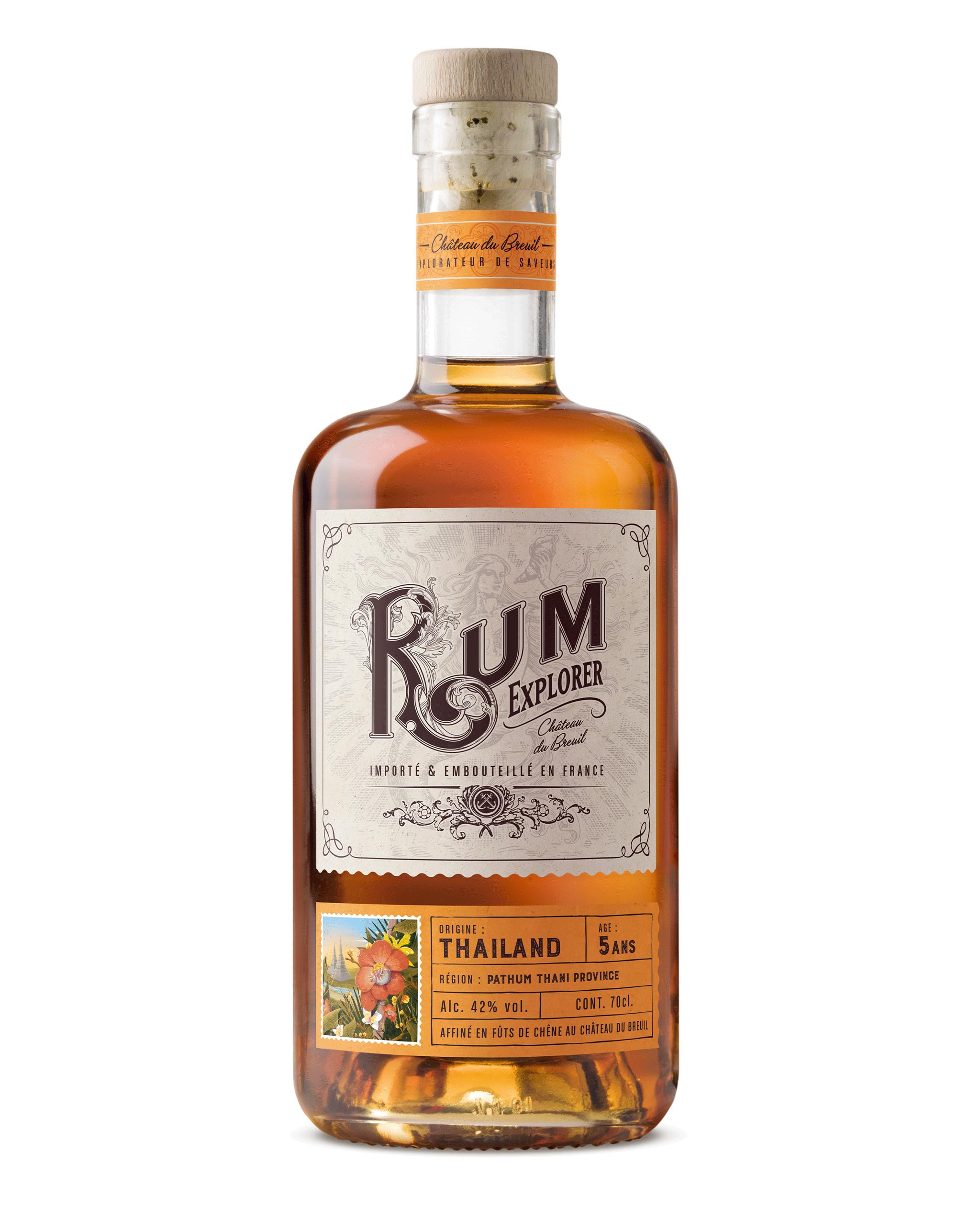 Bouteille Rum Thailand